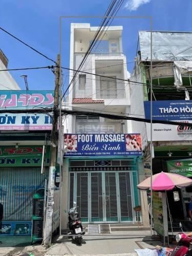 Nhà phố Quận Tân Phú Nhà phố thiết kế 1 trệt, 2 lầu diện tích 72m2, không nội thất.