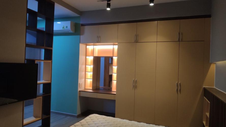 Phòng ngủ Saigon South Residence Căn hộ Saigon South Residences tầng 24 diện tích 104.03m2, đầy đủ nội thất.