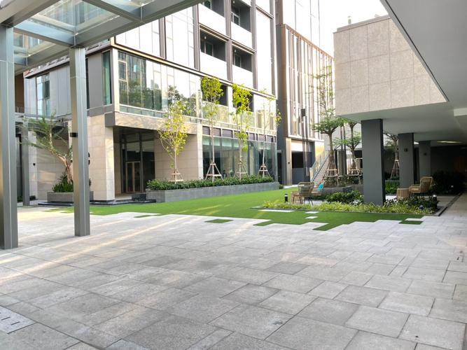Tiện ích căn hộ Empire City, Quận 2 Căn hộ Empire City tầng 5 thiết kế 2 phòng ngủ, không gian thoáng đãng.