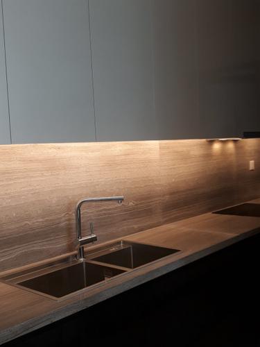 Phòng bếp căn hộ Empire City, Quận 2 Căn hộ Empire City tầng 4 thiết kế 1 phòng ngủ, đầy đủ nội thất.