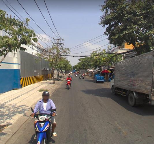 Đường trước nhà phố Quận 7 Nhà mặt tiền đường ngã 4 Lê Văn Lương, diện tích 100m2 đầy đủ nội thất.
