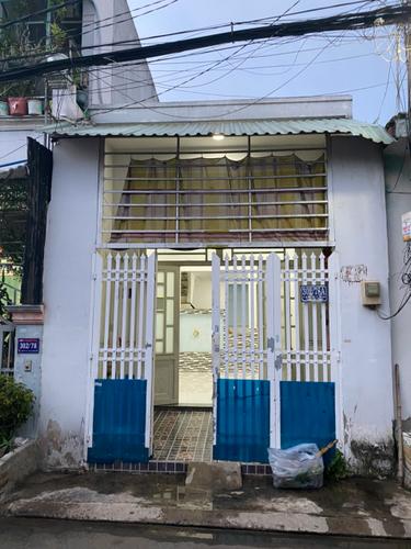 Mặt tiền nhà phố Quận Bình Tân Nhà phố thiết kế 1 trệt, 1 lửng đúc kiên cố, không có nội thất.