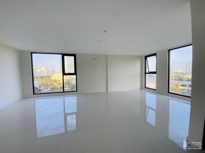 Phòng khách căn hộ Lavida Plus, Quận 7 Căn hộ OT tầng 4 Lavida Plus diện tích 53m2, bàn giao nội thất cơ bản.