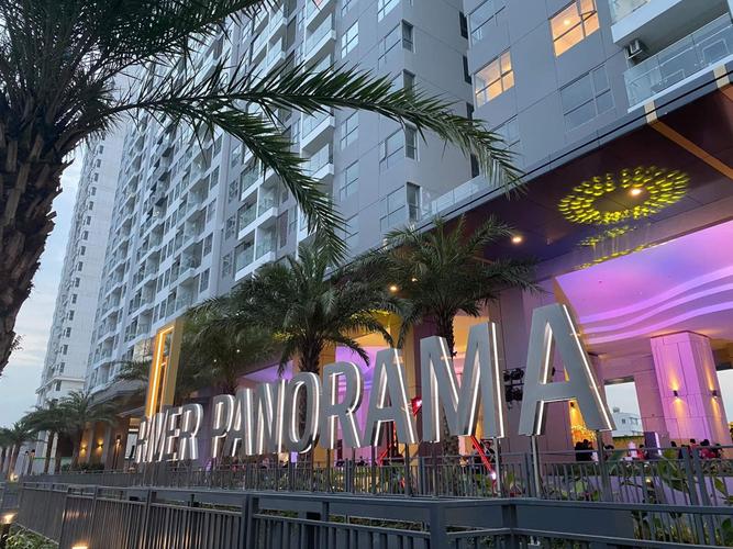Căn hộ River Panorama, Quận 7 Căn hộ River Panorama tầng 14 thiết kế 2 phòng ngủ, đầy đủ nội thất.
