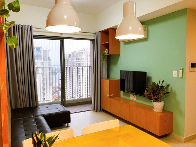 Căn hộ Masteri Thảo Điền, Quận 2 Căn hộ Masteri Thảo Điền tầng 38 có 2 phòng ngủ, đầy đủ nội thất.