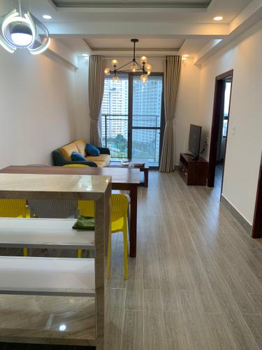 Nội thất Saigon South Residence Căn hộ Saigon South Residence tầng 12 thiết kế hiện đại, có ô để xe hơi.