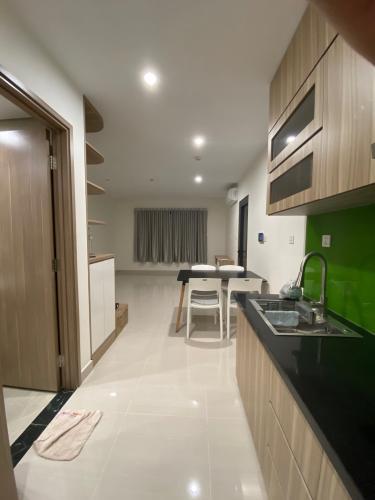 Căn hộ Vinhomes Grand Park thiết kế kỹ lưỡng, nội thất cơ bản.