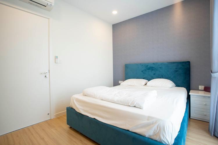 căn hộ Masteri Millennium Căn hộ Masteri Millenium nội thất đầy đủ, view nội khu.