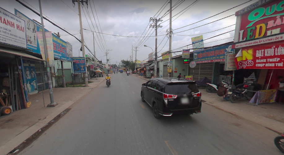Mặt bằng kinh doanh Huyện Bình Chánh Mặt bằng kinh doanh đường Võ Văn Vân diện tích 140m2, không nội thất.