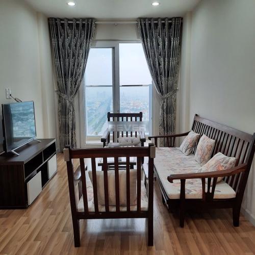 Căn hộ tầng 27 chung cư City Gate hướng Tây đầy đầy đủ nội thất.