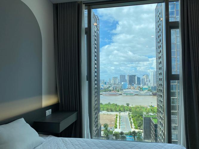 View căn hộ Empire City, Quận 2 Căn hộ Empire City tầng 17 view sông thoáng mát, đầy đủ nội thất.