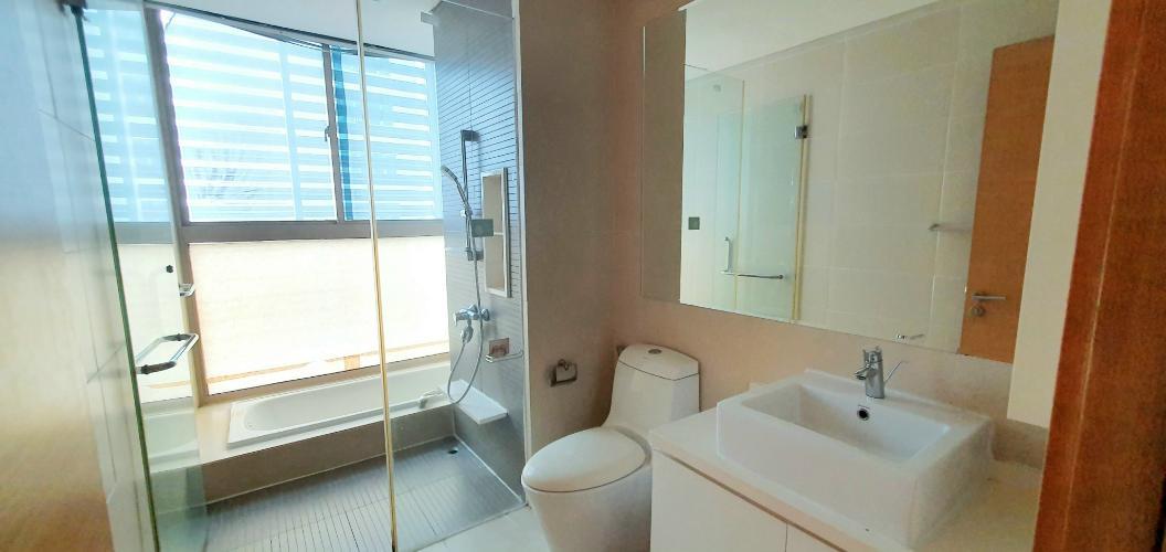 nhà tắm căn hộ The Vista An Phú Căn hộ The Vista An Phú tầng 11 bàn giao nội thất đầy đủ