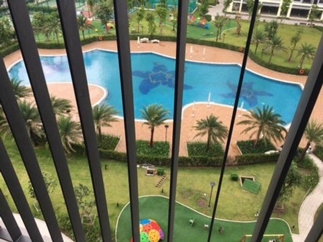tiện ích Vinhomes Grand Park quận 9 Căn hộ Vinhomes Grand Park tầng 5 không có nội thất, ban công Đông Bắc