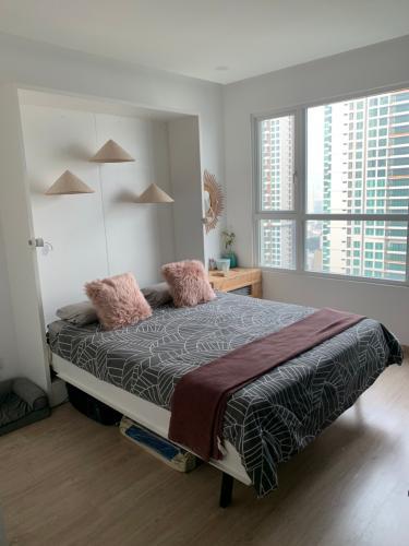 Phòng ngủ , Căn hộ Vista Verde , Quận 2 Căn hộ Vista Verde tầng 20 view thoáng mát, đầy đủ nội thất hiện đại.