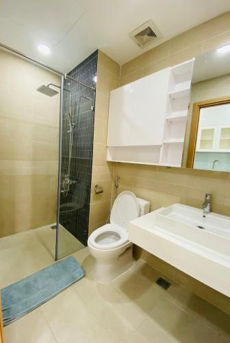 Phòng tắm căn hộ The Sun Avenue, Quận 2 Căn Officetel The Sun Avenue phòng ngủ rộng rãi, đón gió mát mẻ.