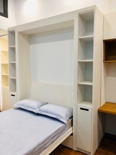 Phòng ngủ căn hộ The Sun Avenue Office-tel tầng thấp The Sun Avenue có thiết kế hiện đại, nội thất đầy đủ