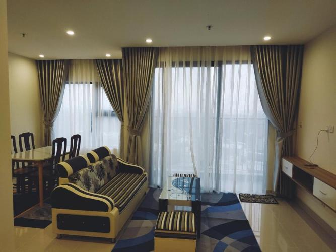 Phòng khách Vinhomes Grand Park Quận 9 Căn hộ Vinhomes Grand Park tầng trung, đầy đủ nội thất.