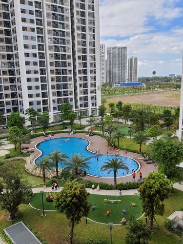 Căn hộ Vinhomes Grand Park, Quận 9 Căn hộ Vinhomes Grand Park tầng 27 diện tích 61.5m2, cửa hướng Đông Nam.