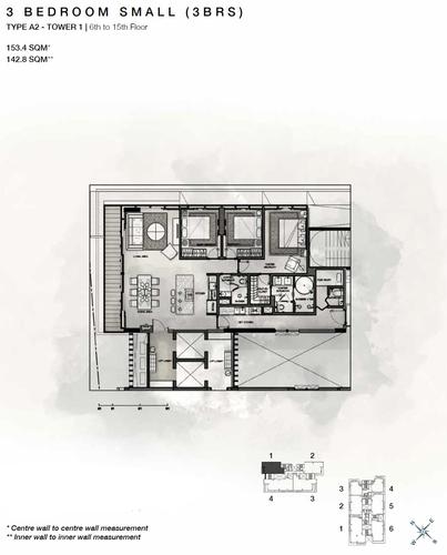 Căn hộ hạng sang Empire City tầng 9 thiết kế sang trọng, nội thất cơ bản.