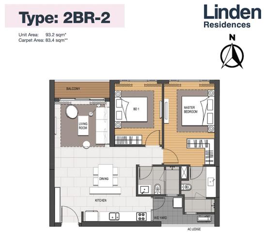 Căn hộ tầng 12 Empire City thiết kế sang trọng, tiện ích đa dạng.