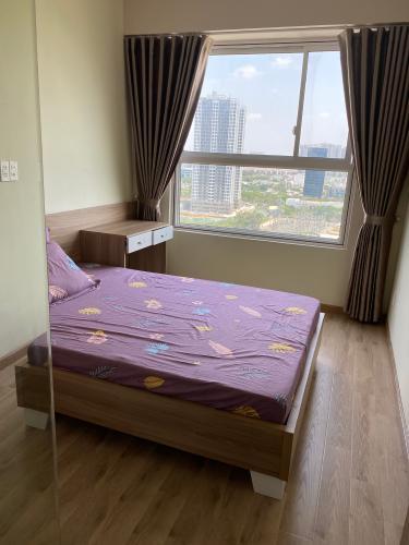 Phòng ngủ căn hộ Sunrise Riverside, Huyện Nhà Bè Căn hộ Sunrise Riverside tầng 17 gồm 2 phòng ngủ, đầy đủ nội thất.