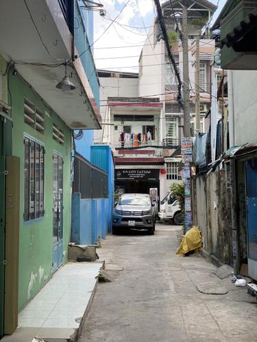 Đường trước nhà phố Quận Gò Vấp Nhà phố hẻm xe hơi đường Lê Đức Thọ, diện tích 67m2 nội thất cơ bản.