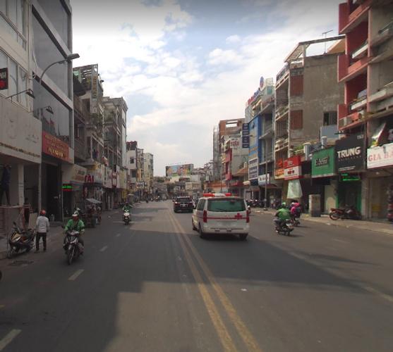 Đường trước mặt bằng kinh doanh Quận Phú Nhuận Mặt bằng kinh doanh diện tích 79m2, nằm tại khu vực kinh doanh sầm uất.