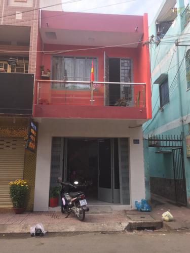 Nhà phố thiết kế 1 trệt, 1 lầu diện tích 44m2, gần chợ Hoa Đầm Sen.