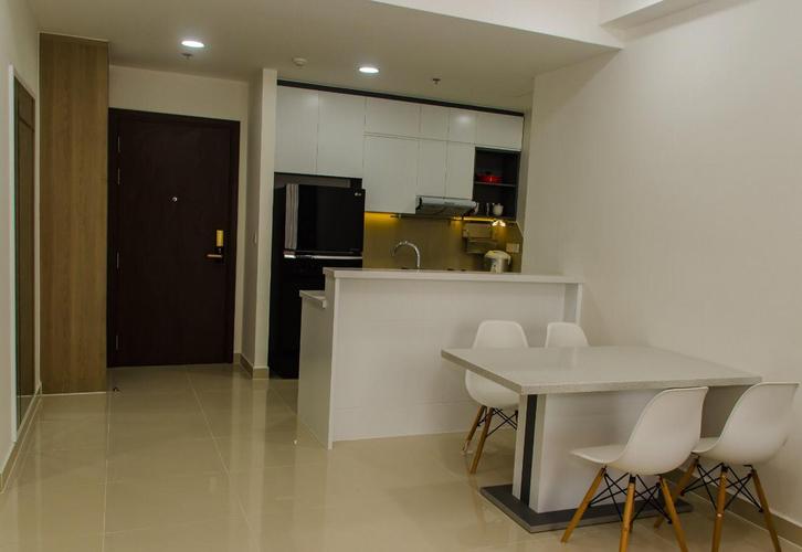 Căn hộ The Tresor, Quận 4 Căn hộ The Tresor tầng 10 diện tích 65m2, bàn giao đầy đủ nội thất.