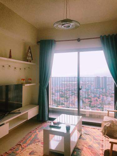 Căn hộ tầng 34 Masteri Thảo Điền thiết kế sang trọng, đầy đủ nội thất.