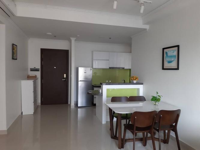 Căn hộ The Tresor, Quận 4 Căn hộ tầng 9 The Tresor cửa hướng Đông Bắc, bàn giao đầy đủ nội thất.