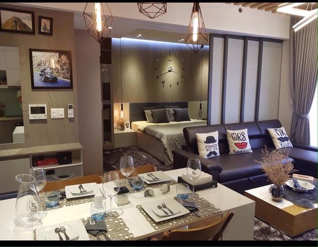 Căn hộ Masteri Thảo Điền tầng 39 thiết kế sang trọng, đầy đủ nội thất.