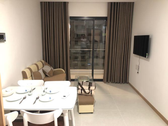 Căn hộ New City Thủ Thiêm tầng 9 có 1 phòng ngủ, đầy đủ nội thất.