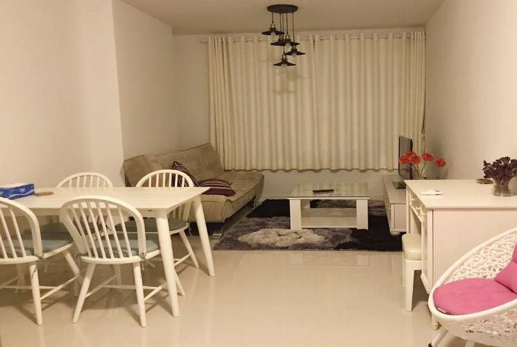 Phòng khách Galaxy 9, Quận 4 Căn hộ Galaxy 9 hướng Đông Nam, đầy đủ nội thất.