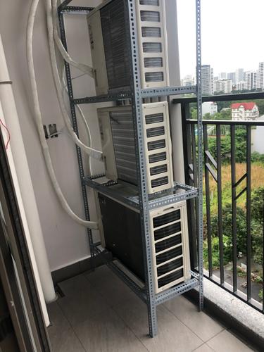 Ban công Saigon South Residence Căn hộ Saigon South Residence tầng 8 thiết kế sang trọng, đầy đủ nội thất.
