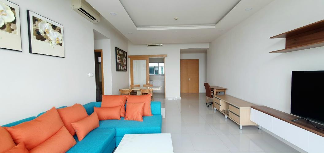 không gian căn hộ The Vista An Phú Căn hộ The Vista An Phú tầng 11 bàn giao nội thất đầy đủ