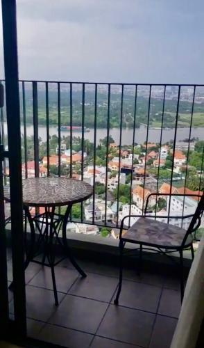 Căn hộ Masteri Thảo Điền, Quận 2 Căn hộ 2 phòng ngủ Masteri Thảo Điền tầng 31, đầy đủ nội thất hiện đại