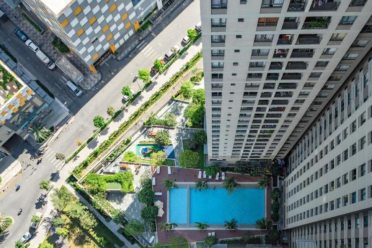 Căn hộ Masteri Thảo Điền, Quận 2 Căn hộ Masteri Thảo Điền tầng 33 có 2 phòng ngủ, đầy đủ nội thất.