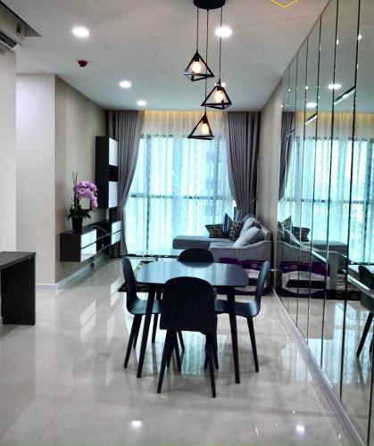 Căn hộ The Ascent tầng 10 nội thất đầy đủ, view hồ bơi nội khu
