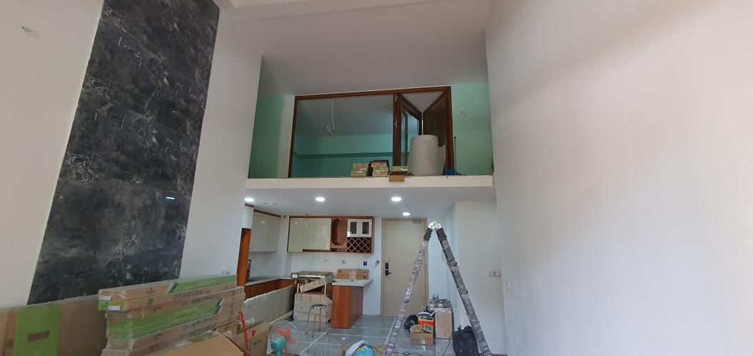 Căn hộ Palm Heights, Quận 2 Căn hộ Palm Heights tầng trệt, thiết kế 4 phòng ngủ thoáng mát.