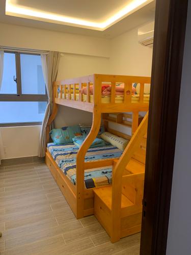 Phòng ngủ Saigon South Residence Căn hộ Saigon South Residence tầng 12 thiết kế hiện đại, có ô để xe hơi.
