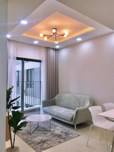 Căn hộ Masteri Thảo Điền tầng 12 cửa hướng Tây Nam, đầy đủ nội thất.