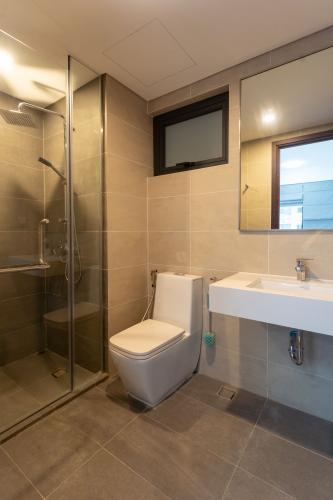 Phòng tắm One Verandah Quận 2 Căn hộ One Verandah tầng trung, bàn giao không có nội thất.