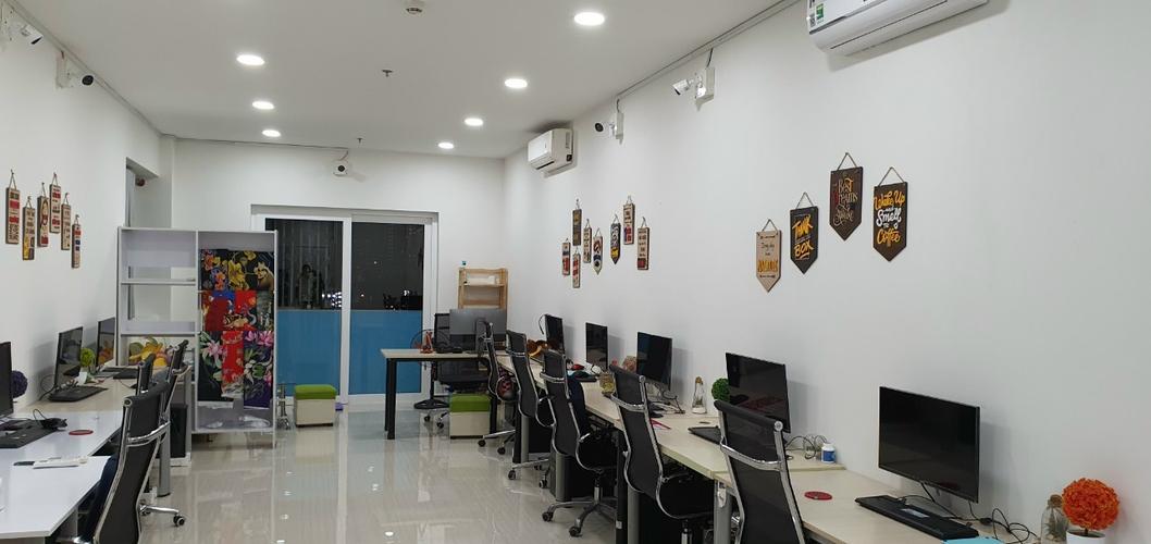 Officetel Moonlight Boulevard diện tích 54m2, nội thất cơ bản.