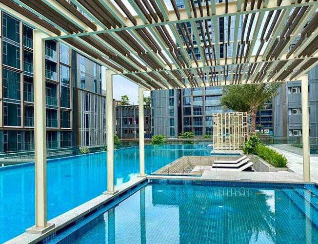 Tiện ích căn hộ Empire City, Quận 2 Căn hộ Empire City tầng 32 thiết kế 3 phòng ngủ, nội thất cơ bản.