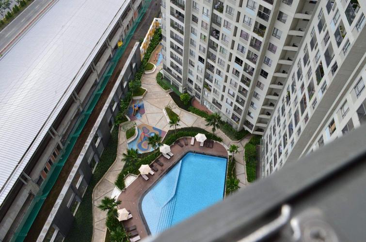 View căn hộ Masteri Thảo Điền, Quận 2 Căn hộ cao cấp Masteri Thảo Điền tầng 22, diện tích 68m2.