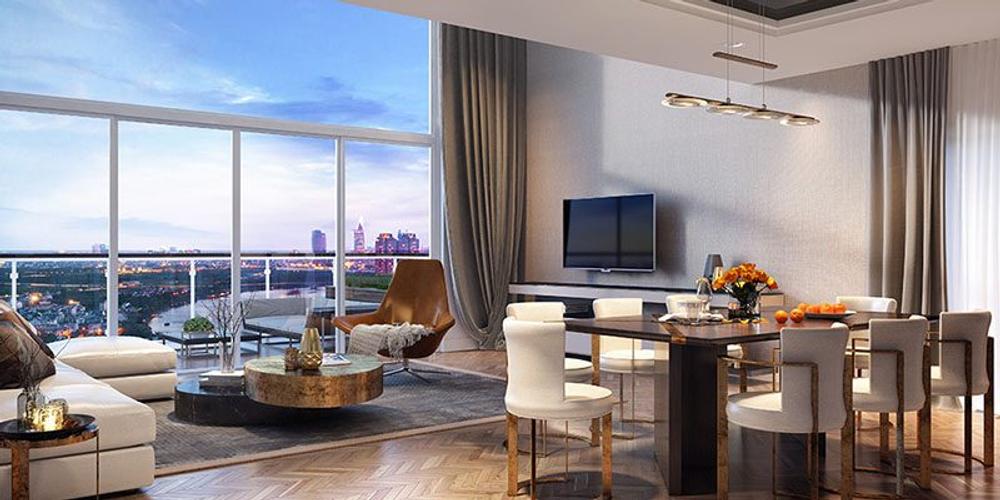 Nhà mẫu căn hộ The Metropole Thủ Thiêm, Quận 2 Căn hộ The Metropole Thủ Thiêm tầng 3 thiết kế sang trọng, tiện ích đa dạng.