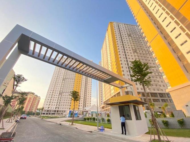 Căn hộ Diamond Riverside, Quận 8 Căn hộ Diamond Riverside tầng 11 diện tích 72m2, không gian thoáng đãng.