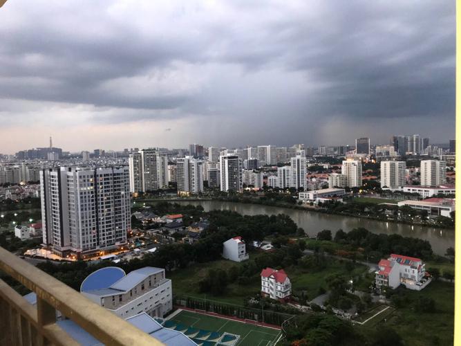 View Căn hộ tầng 26 Saigon South Residence, view thành phố sầm uất tuyệt đẹp.