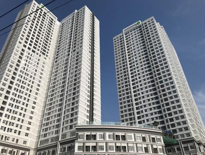 Officetel Sunrise Cityview, Quận 7 Officetel Sunrise CityView tầng 21 diện tích 40m2, không có nội thất.